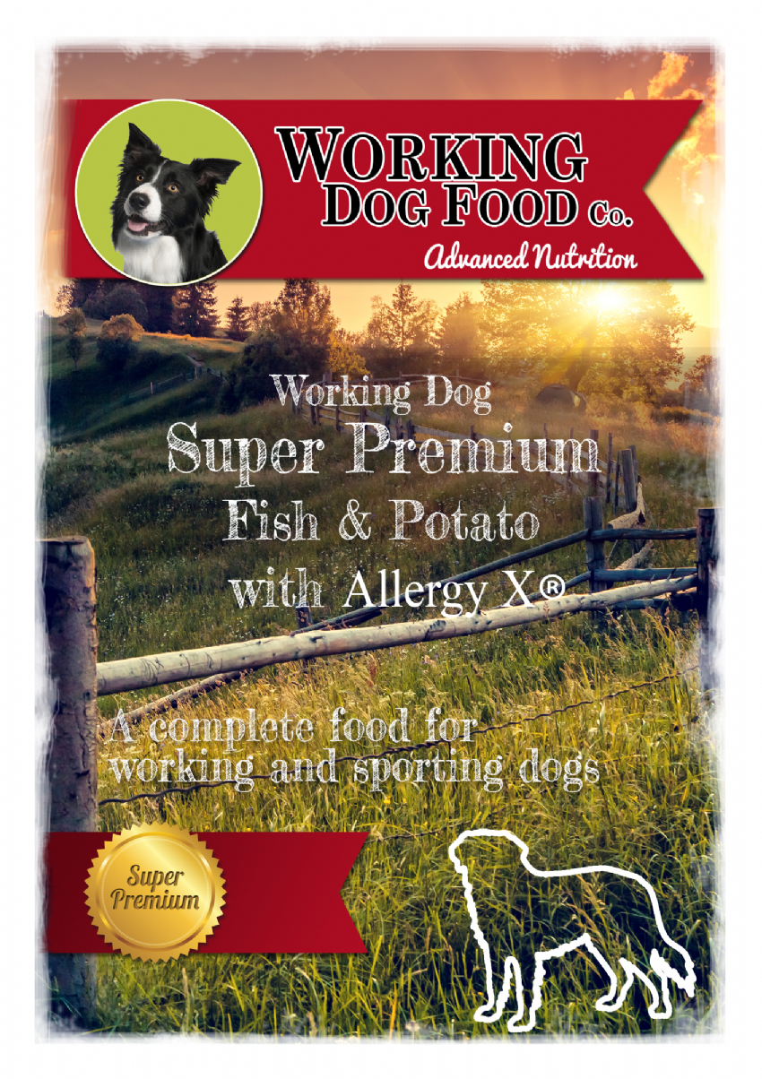 Super Premium hypoallergenic Adult Fish & Potato with Allergy-X® Itch-Eeze, Complete Dry Dog Food